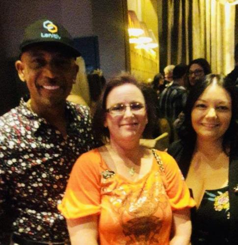 WPA One Step Closer Foundation Charity Tournament Aria Liz Huey Rebbecca Scales Montel Williams